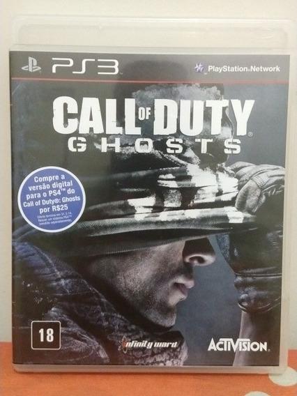 Jogo Call Of Duty Ghost Mídia Física Ps3