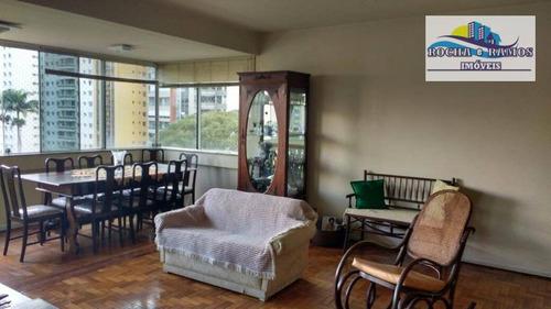 Apartamento 3 Dormitorio,2 Garagem, Centro, Campinas. - Ap1015