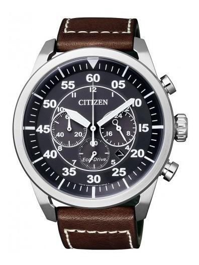 Relógio Citizen Aviador Eco-drive Cronógrafo Ca4210-16e