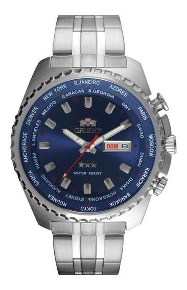 Relógio Orient Masculino Automático Prata 469ss057 D1sx
