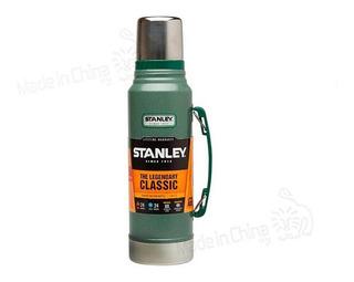 Termo Stanley 1 Litro Frío/calor 24 Hs Verde Utima Edicion