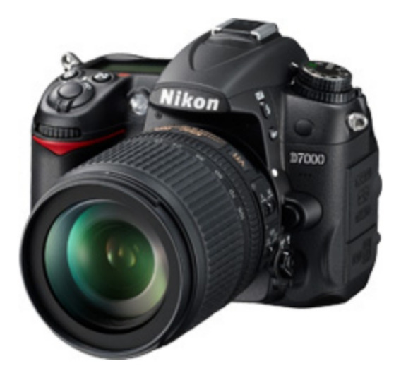 Câmera Nikon Profissional D7000