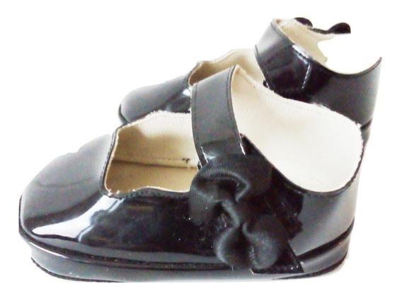 Zapato Charol Flexible Pulsera Niña Mafalda Bebé. $390a