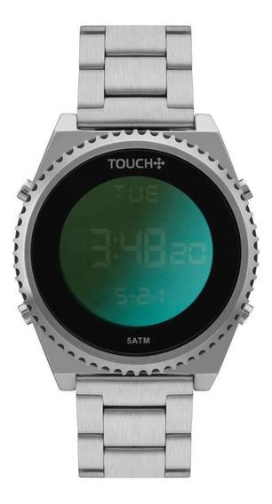 Relógio Touch Unissex Prata Twbj3688cb/3p
