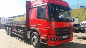 Mercedes-benz Atego 2426 - Teto Alto - Leito - 2014