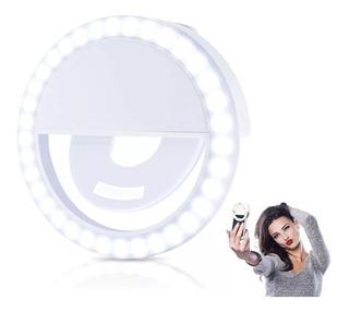 Ring Light Luz Para Selfie Foto Filmagem Celular