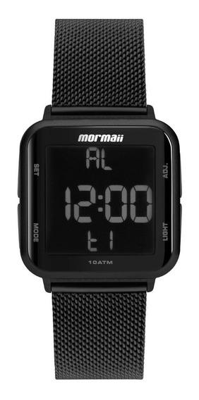 Relógio Mormaii Feminino Digital Mo6600ag/8p Preto Negativo