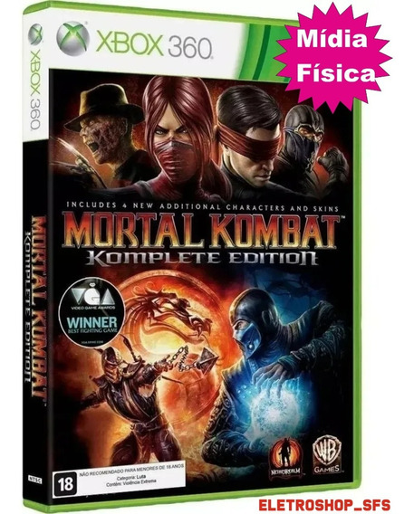 Mortal Kombat Komplete Edition Xbox360 Pronta Entrega Físico