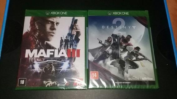 2 Jogos De Xbox One Novos E Lacrados