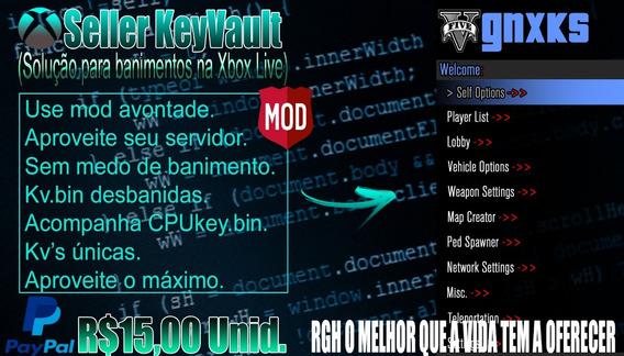 Kv.bin Keyvault Xbox Rgh/jtag