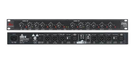 Crossover Dbx 234xl Stereo 2/3 Way, Mono De 4 Vias Analogico