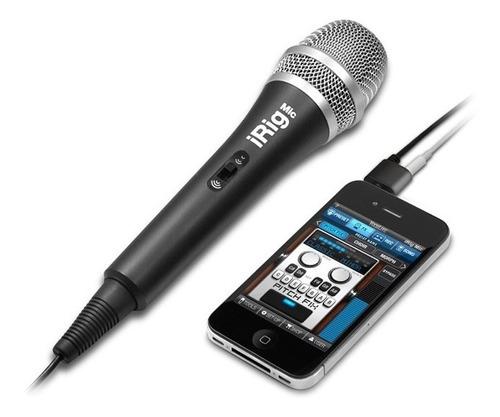 Irig Mic Microfono  Para Celulares Tablets Computadores