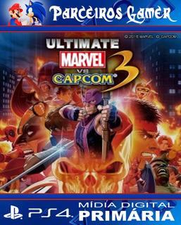 Ultimate Marvel Vs Capcom 3 - Ps4 1 - Combate - Digital