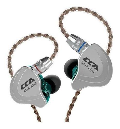 Fones Ouvido Cca C10 Sem Microfone + Porta Fone