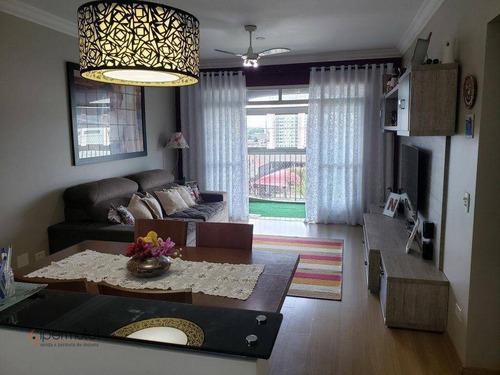 Ótimo Apartamento Com 3 Dormitórios À Venda, 115 M² - Butantã - São Paulo/sp - Ap2134