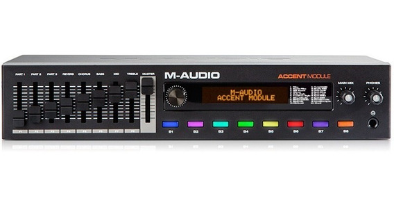 Módulo Timbres Teclado Controlador Piano Usb Midi M-audio
