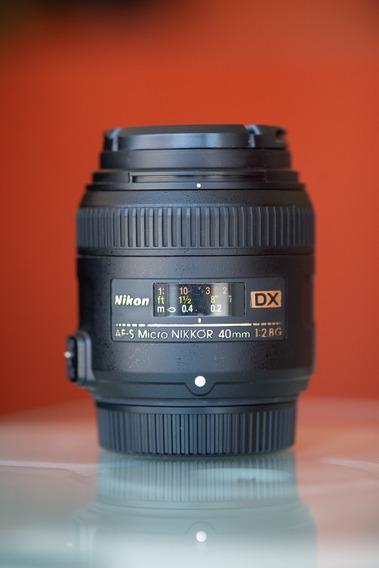Lente Nikon Af-s Dx Micro Nikkor 40mm F/2.8g