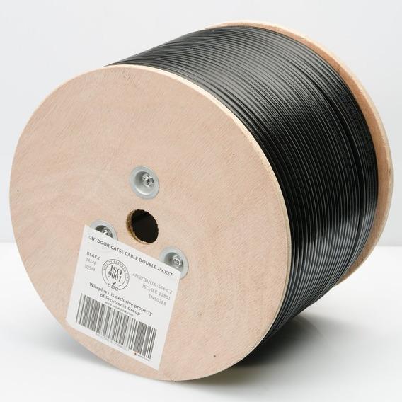 Bobina De Cable Utp Cat5e 305mts Outdoor Exterior Doble Chaq