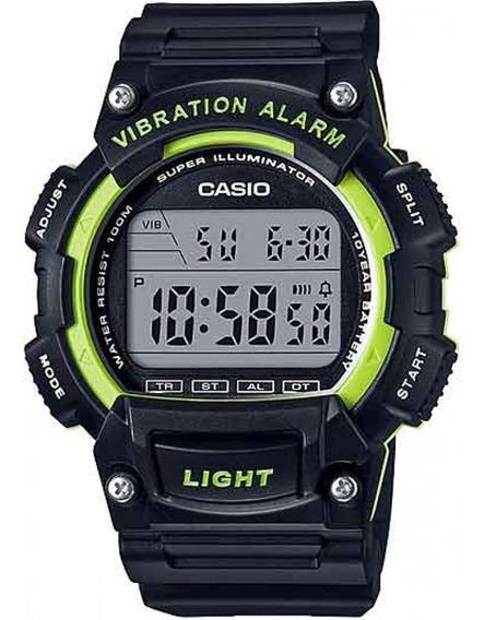 Relógio Casio Digital Alarme Vibratório W-736h-3av Original