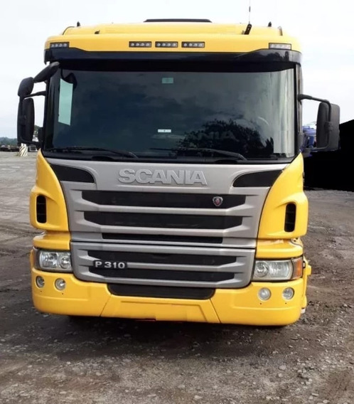 Scania 310 Bitruck 8 X 2 Plantaforma 9,00 Metros Ano 2013/14