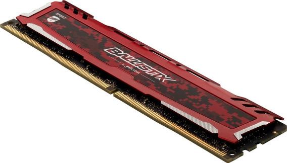 Memoria Crucial Ddr4 4gb 2666 Ballistix Red Pc4-21300 Lanus