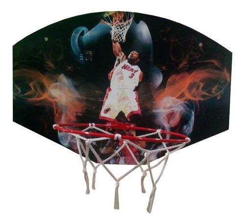Tablero Aro De Basquet Tablero Madera Basket T2003