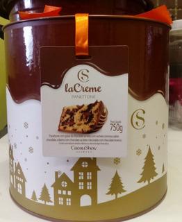 Kit 2 Panettones Premium Lacreme Cacau Show Chocotone