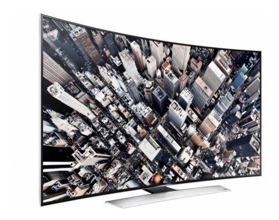 Tv Samsung 78 4k 9000 Curve Perfeita Com Todos Acessórios.