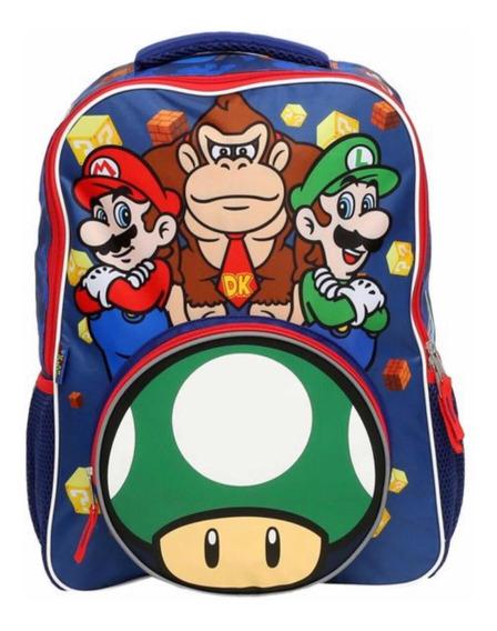 Nuevo Morral Nintendo Mario Bros