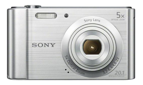 Sony Cyber-shot DSC-W800 compacta plata