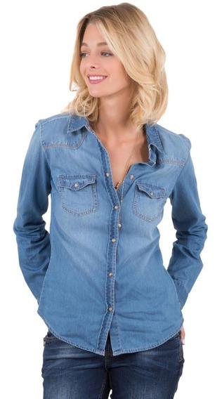 Camisa Jean Mujer