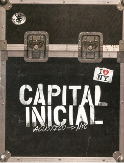 Box 2 Cds E Dvd Capital Inicial - Acustico -