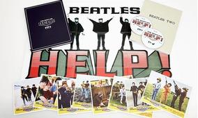 Beatles : Caixa Contendo Os Itens Do Help Deluxe + 12 Livros