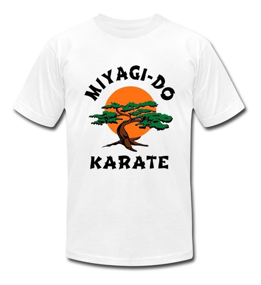 Playera Koyi 1203 Miyagi Do Karate Kid Cobra Kai Caballero