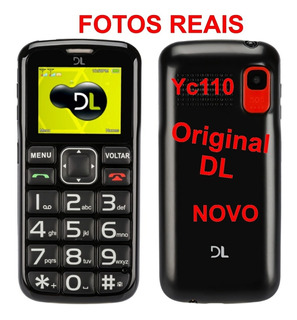 Carcaça Do Celular Dl Yc110 Dual Chip