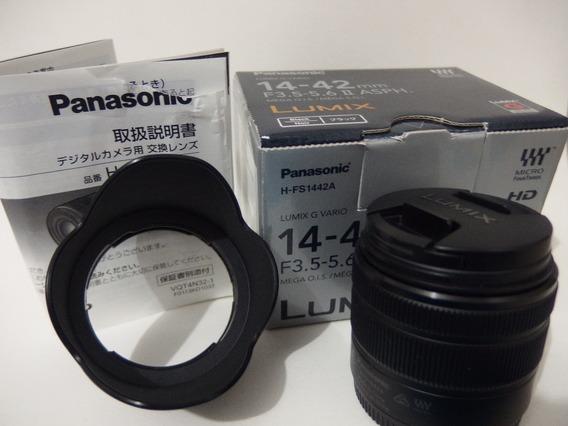 Panasonic Lumix 14-42mm F/3.5-5.6 Ii Caixa Micro 4/3 M4/3