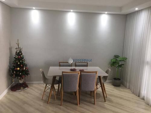 Imagem 1 de 3 de Apartamento À Venda, 122 M² Por R$ 795.000,00 - Jardim Das Indústrias - São José Dos Campos/sp - Ap3807