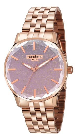 Relógio Rosê Mondaine Feminino 99023lpmvre3