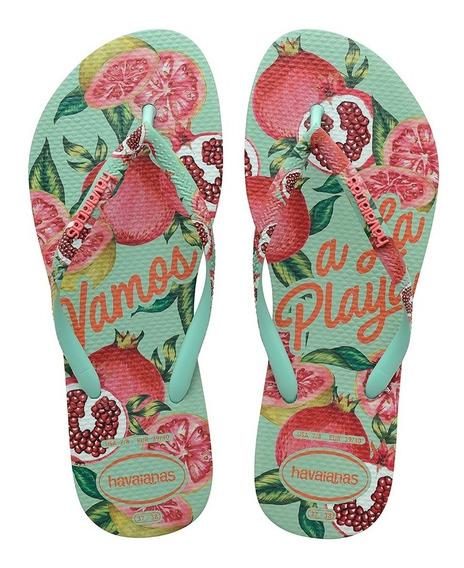 Ojotas Havaianas Slim Summer Mujer Originales
