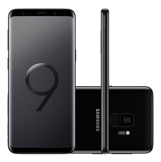 Samsung Galaxy S9 128gb Preto + Capa E Película