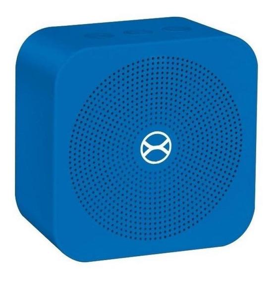 Caixa De Som Portátil Xtrax Pocket - Azul 5w Rms Bluetooth