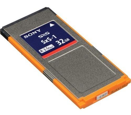 Memoria 32gb Sony Sxs Memory Card Xdcam Ex