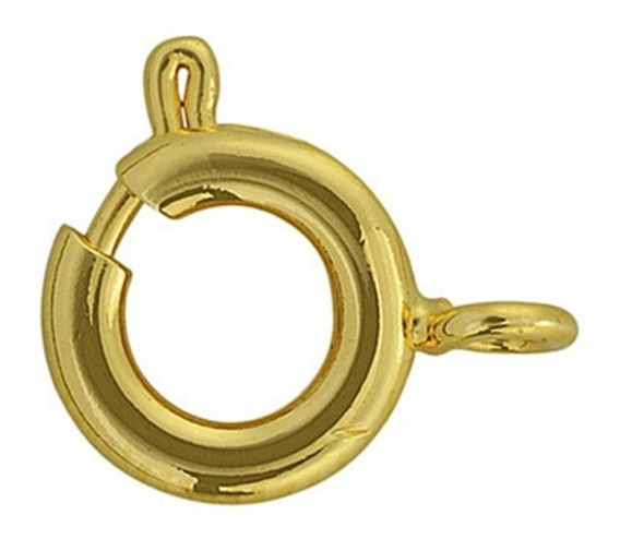 Fecho Bóia 7mm Ouro 18k - 750 Cód140