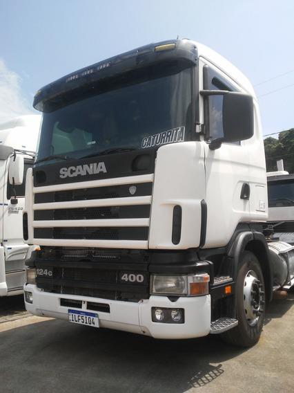 Scania R124ga 6x2 400 Cv - Ano 2003 - Mondial Veiculos-