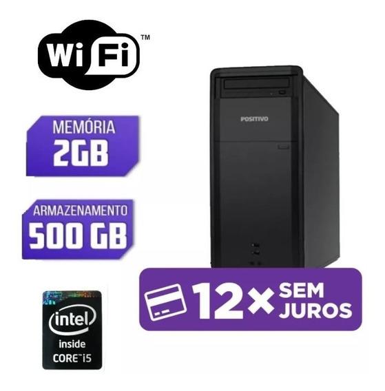 Computador Usado I5 Hd 500gb Imperdível
