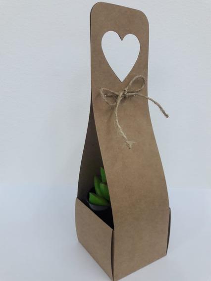Caixa Embalagem Para Suculenta E Lembrancinhas Kit Com 40
