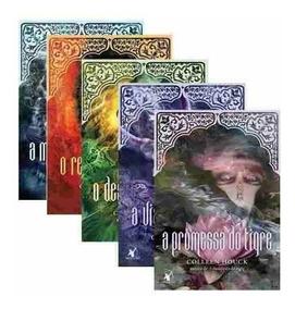 Kit Livros - A Maldição Do Tigre - 5 Volumes - Edição Normal