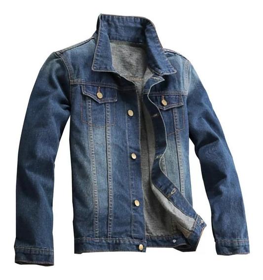 Jaqueta Jeans Premium Masculina. Ref: 636