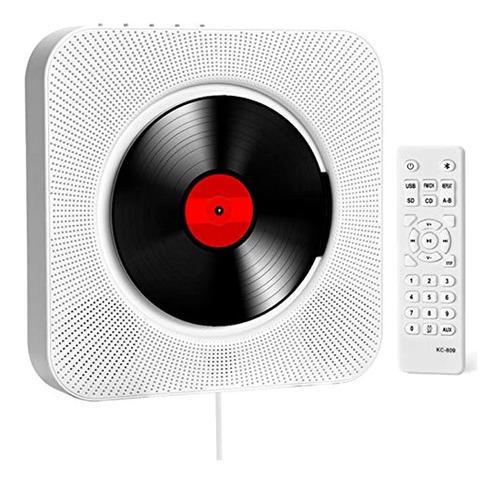 Imagen 1 de 7 de Discmans Portátil Con Radio Fm Y Pantalla Lcd, Color Blanco