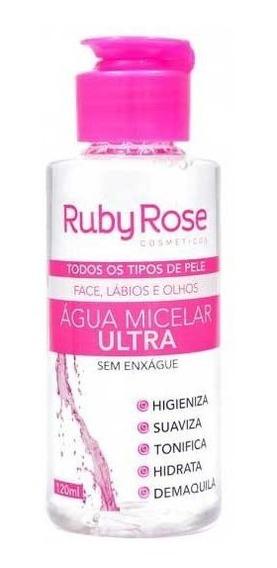 Água Micelar De 120ml Ruby Rose Hb-300
